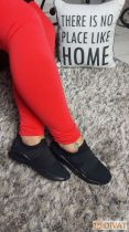 Fashion by NONO - Korall pamut hosszú sztreccs leggings