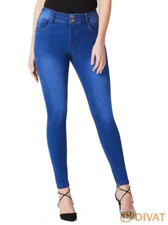 SimplyBe extra méretű, élénk kék alakot formáló, popsi emelő hatású farmernaci