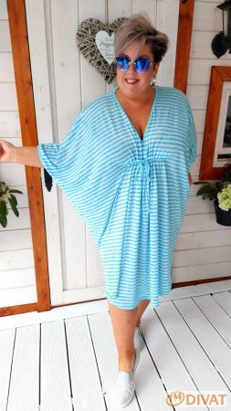 Fashion by NONO - Daniella csíkos tunika-ruha
