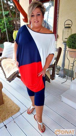 Fashion by NONO - Manhattan Trendi, bő fazonú tunika 3.