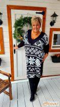 Fashion by NONO - Minage  Norvég mintás tunika-ruha
