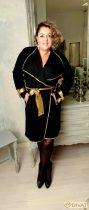 Fashion by NONO - Fekete-arany kabátka