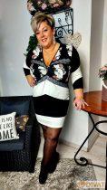 Fashion by NONO- Bebe anyagában mintás ruha